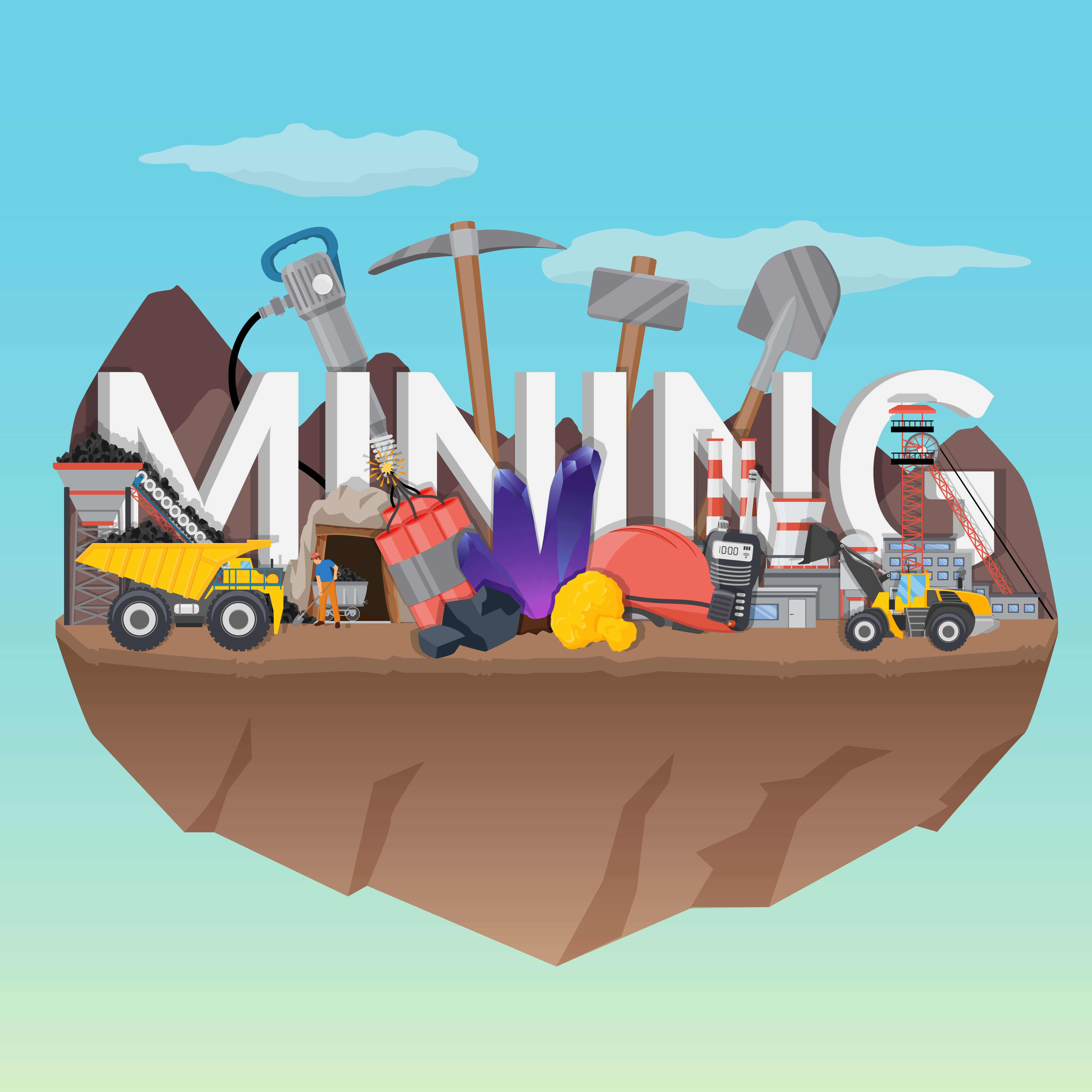 موضوع فعالیت شرکت معدنی